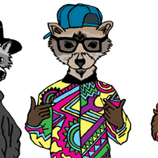 Raccoon Rappers – ABC Book – Red Cross
