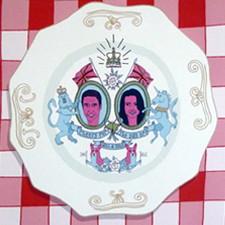 A little piece of Royal memorabilia. Will and Kate Royal Wedding Plate
