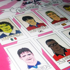 World Cup Poster & Sticker collection